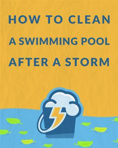 Rain can put gallons of untreated water in your pool, weakening sanitizer and filtration. You need to know how to drain water from your pool after rain. Cleaning Above Ground Pool, Above Ground Pool Decks, Above Ground Swimming Pools, Ground Pools, Swimming Pool Maintenance, Pool Care, Stock Tank Pool, Pool Cleaning, Cleaning Hacks