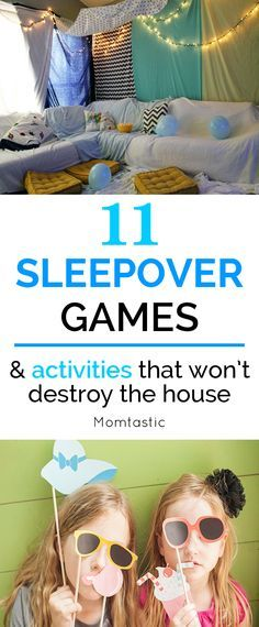I went to scouring the internet for potential sleepover games and activities that I knew they'd love, but most importantly, would wear them out so we could all get some sleep.
