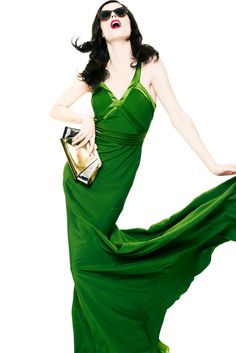Gorgeous in GREEN!! Sfilata Z Spoke by Zac Posen New York - Collezioni Primavera Estate 2013 - Vogue