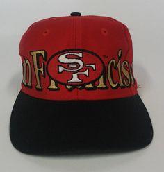Collectible San Francisco 49er Cap Retro 49er by shoponwebstreet
