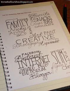 Creative Flourishes: Love Your Handwriting by Heidi Swapp