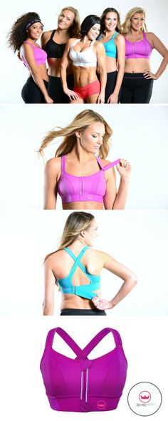 The best high impact bra! It doesn't matter if you're a weekend-only athlete or you work out 2x/day, you can expect fit and support so customized, we're confident the Shefit high impact sports bra will become an essential part of your active lifestyle. Great for all your cardio workouts, yoga, pilates, dance, and running.  | Cute Sports Bra for Big Bust + Plus Size + Small Chest | Removable Padded  | Best Curvy Fitness Clothes | Affordable Workout Gear | Fitness Outfits for Women | Athletic…