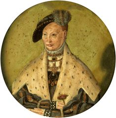 Portrait of Dorothea of Denmark (1504-1547). By Jakob Binck, 1530-1540.(PD-art/old), Muzeum Narodowe w Warszawie (MNW).
