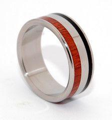 Centaur - Titanium Rings   Minter + Richter
