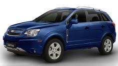 blue chevrolet captiva   Auto Esporte - Chevrolet Captiva ganha nova cor e perde motor 3.0 na ...