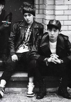 Baekhyun & Chanyeol #diejungs #exo