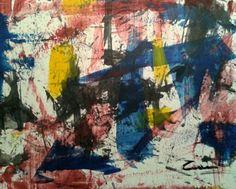 Astratto dipinto cozzani in Arte e antiquariato, Quadri, Dipinti ad olio   eBay