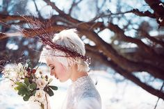 Rustic Winter Wedding Shoot by Miesh Photography