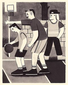 Exercise Drawings by Michael Kuo