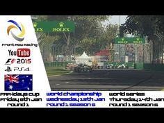 Front Row Racing season 6 trailer  F1 2015