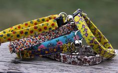 Vintage collection Rosy Cat collar by RescuePaws on Etsy