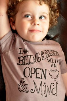 I Am Being Raised TShirt for Kids w/ Open by LittleFigs