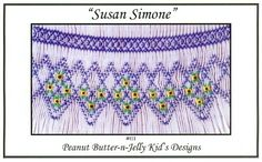 Free Smocking Patterns and Plates | Heirlooms Forever - Smocking Plates