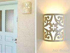 ceramic lampshade by Irit dinur.