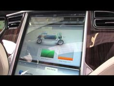 Tesla Model S Infotainment and iPhone app