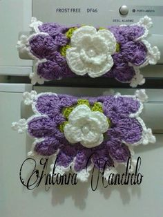 Easter Crochet, Crochet Art, Love Crochet, Crochet Motif, Crochet Crafts, Crochet Flowers, Crochet Projects, Crotchet Patterns, Knitting Patterns