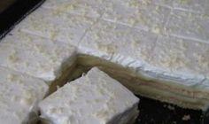 Křehký, lahodný a šťavnatý - Hříšný mrežovník Croatian Recipes, Feta, Ham, Recipies, Dairy, Food And Drink, Cheesecake, Cooking Recipes, Baking