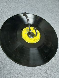 Coat Hooks, Music Instruments, Etsy Shop, Creative Products, Vinyl Records, Deco, Musical Instruments, Clothes Racks