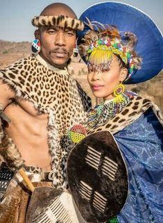 Suffocate' and Puleng's traditional zulu wedding - Swati/Zulu inspired. African Attire, African Wear, Zulu Traditional Wedding, Zulu Traditional Attire, Zulu Wedding, Wedding Attire, Wedding Decor, Wedding Ideas, African Wedding Dress