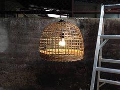 Rustic chandelier wicker ceiling light, coastal lighting, bamboo lamp hanging light fixture basket c Wicker Pendant Light, Rustic Pendant Lighting, Coastal Lighting, Rustic Chandelier, Coastal Decor, Pendant Lamp, Coastal Curtains, Coastal Entryway, Coastal Bedding