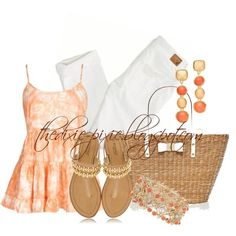 Summer outfits. Capri pants. White jeans. Fashion for women over 40 ...