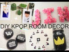 DIY KPOP ♡ Room Decor   EXO Edition - YouTube
