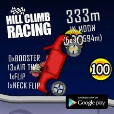 Hill Climb Racing, Android Apps