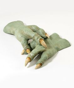 Another great find on #zulily! Yoda Hands - Adult by Star Wars #zulilyfinds