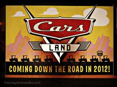 Calentando los Motores para Cars Land - #Disneylandia al Día™ Disney California Adventure, Cars Land, Disneyland, Aperture, Motors, Parks