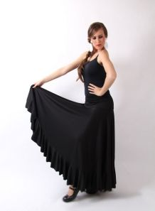08efcd5530 Falda ensayo P-M-G F. 115 Falda clásica para baile flamenco