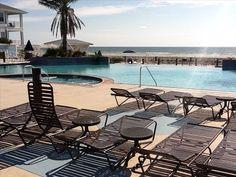 Beach Club pool area overlooking ocean