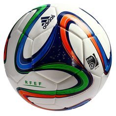 Last 9 x adidas FEF Spanish Fifa Brazuca Match Footballs Size 5 rrp£60 Only £11.29 each!!