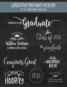 no photo graduation announcements