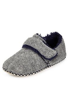 Felt Slippers with Thinsulate™ (Younger Boys)