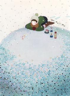 Under Ice by Finnish artist Anna Emilia Laitinen