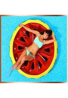 Flotador de piscina con forma de donut de fresa - Flotadores gigantes ...