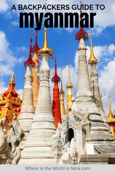 This backpacking Myanmar guide includes: Myanmar itinerary, Myanmar tips, Myanmar budget and costs, and more! Here is how to spend 3 weeks in Myanmar. Pin this to your Myanmar travel board for later. Backpacking India, Backpacking South America, Backpacking Trips, Myanmar Travel, India Travel, Packing Tips For Travel, Travel Deals, Culture Travel, Travel Couple