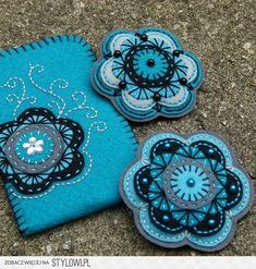 felt wool crafts   Wool and Felt Crafts na Stylowi.pl