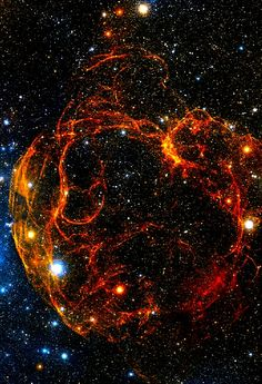 The Spaghetti Nebula, supernova remnant in Taurus Image Credit: Digitized Sky Survey, ESA/ESO/NASA FITS Liberator.