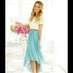 LC Lauren Conrad Dresses   Skirts - ✨LC Lauren Conrad High Low Mint Skirt  NWT✨ - Donated to the American Cancer Society by HopeSparkles Christa s  Closet! 9938b46de25d