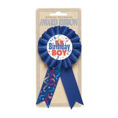 Make your little guy feel extra special with our Birthday Boy Award Ribbon. Pin on the Birthday Boy Award Ribbon and set a party atmosphere! Happy 50th Birthday, Birthday Diy, Boy Birthday Parties, Halloween Costume Shop, Halloween Costumes For Kids, Fabric Rosette, Kids Party Supplies, Vacation Deals, How To Make Ribbon