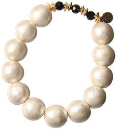 デペッシュモード コットンパールブレスレット / cotton pearl bracelet on ShopStyle