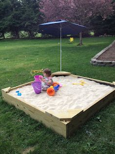 Need a project? This one can be your next DIY Weekend Sandbox