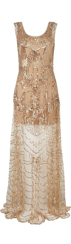 Art Deco Dress - Phase Eight.co.uk - perfect for the willowy column or neat hourglass figures. x