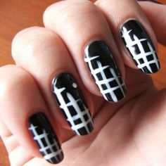 I might try this with black and red or vice versa too