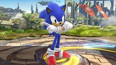 Sonic The Hedgehog joins the brawl! #SSB2014