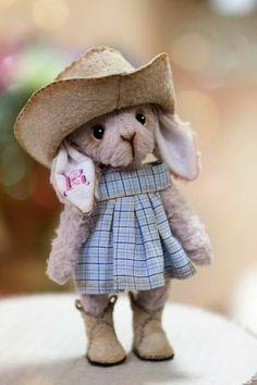 OMGOSH She is SO cute ! A cowgirl bunny!!!!! Love her ! jen