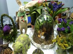 Easter / Spring-time Decorating Ideas Sneak Peak - www.MommyDecorates.com