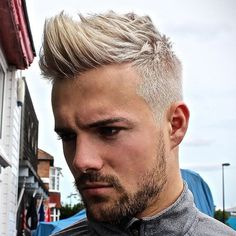 Taper Fade with Textured Quiff