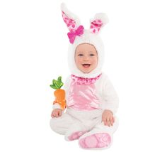 Disfraz de conejito para bebés en varias tallas
